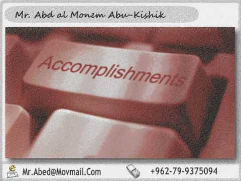Mr. Abed Abu Kishik - Resume