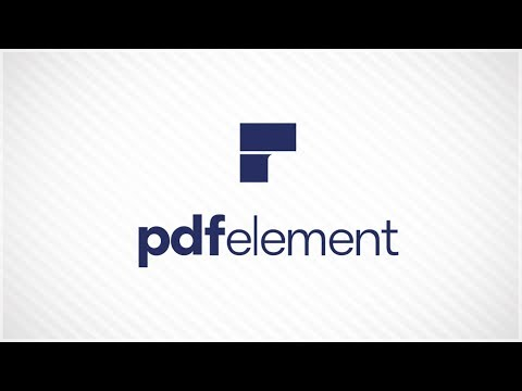 How to edit, annotate and convert PDF? - PDFelement Tutorial