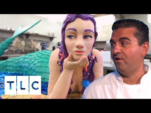 The Mermaid Cake | Cake Boss