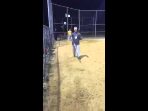 Stud uses juiced softball bat and ruins game by hitting ball into the next city