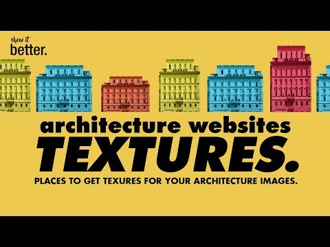 MUST USE  Websites to Download Textures for your Architecture Images