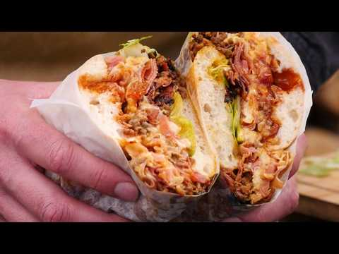 MEAT LOVERS SANDWICH  -- Home Made Street Food