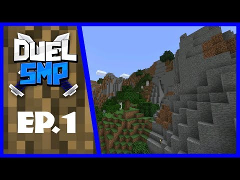The Beginning - Duel SMP EP.1 -Minecraft PE(Pocket Edition)