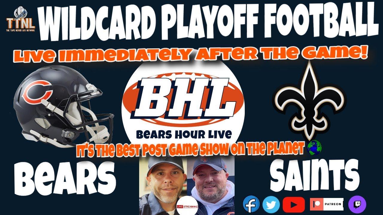 BHL WILCARD PLAYOFFS Bears @ Saints