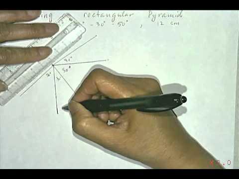 FMP10-1.4 Make a rectangular pyramid
