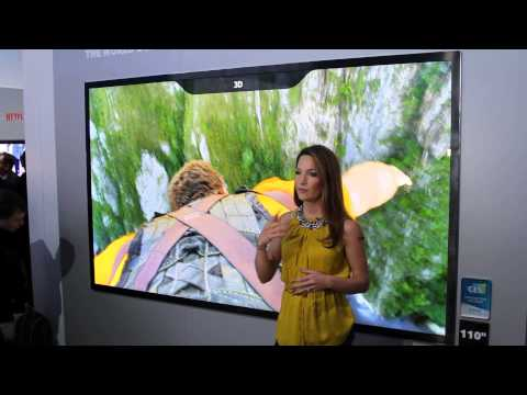 Samsung 110 inch 8K 3D TV! [CES 2015]