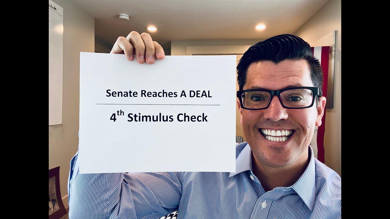 🔴  The Senate HAS A DEAL | Fourth Stimulus Check Update | Budget Reconciliation Next