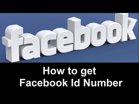 How to get Someone's Facebook Id Number - Tutorial 2017