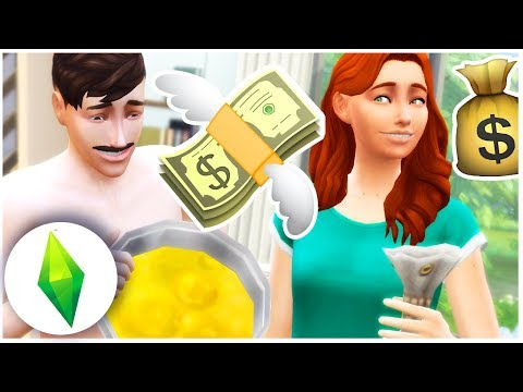 Let's Play The Sims 4 | MAKING MONEY!  [Part 9]