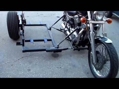 Suzuki Intruder 1400 with sidecar frame Part 2