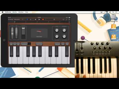 Using a MIDI Controller with iPad