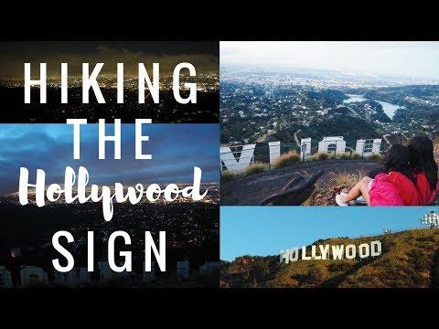 SUNRISE HOLLYWOOD SIGN HIKE + RUNYON PARK | L.A. VLOG PART 1 | viola helen
