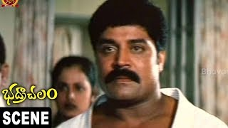 Kota Srinivasarao, Mallikharjuna Says Sorry To Sri Hari &Kicks Punching Bag || Bhadrachalam Scenes