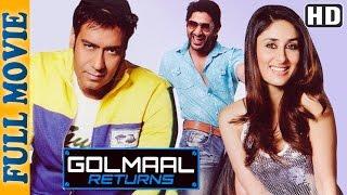 Golmaal Returns {HD} - Ajay Devgan - Kareena Kapoor - Arshad Warsi - Superhit Comedy Movie