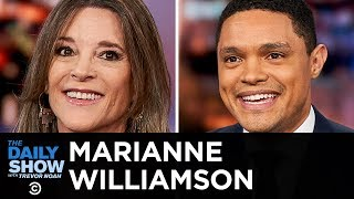 Marianne Williamson - Running for President on a Morality-Driven Platform | The Daily Show