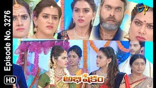 Abhishekam | 16th July 2019 | Full Episode No 3276 | ETV Telugu