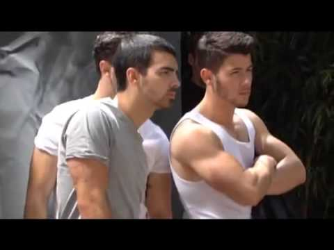 Jonas Brothers OUT Magazine Behind The Scenes