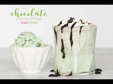 Mint Chocolate Chip Milkshake Recipe