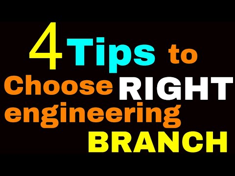 4 TIPS to CHOOSE RIGHT ENGINEERING BRANCH in college ? Must watch it || By-Kartikey Sir(IIT BHU)