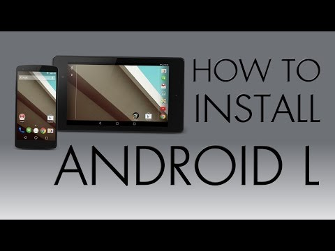 How To Install Android L On Nexus 7 (2013)