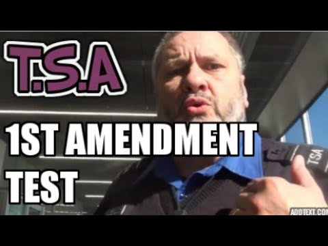 Chicago TSA 1st Amendment test