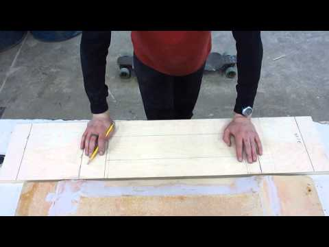How To Make a 3D wooden longboard press.