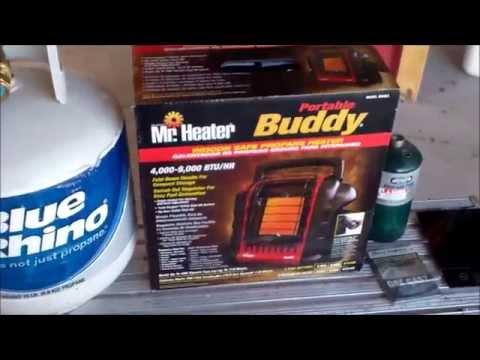 Mr Heater and 1Lb Propane Tank Fill