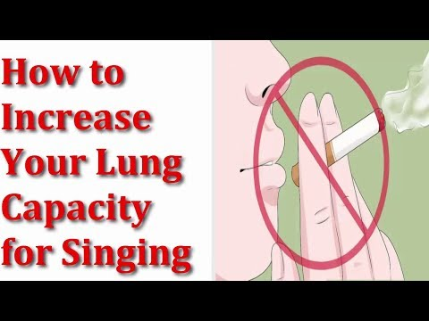 How to Increase Your Lung Capacity for Singing