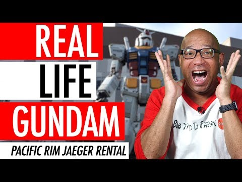 Real Life Gundam Suit In Japan, Working Gundam Suit - Pacific Rim Robots Jaeger Pilot Suit Rental 🤖