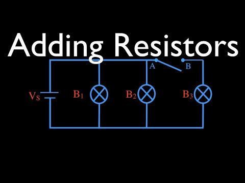 Resistors in Parallel: Adding Resistance Part 1 (6 of 16)