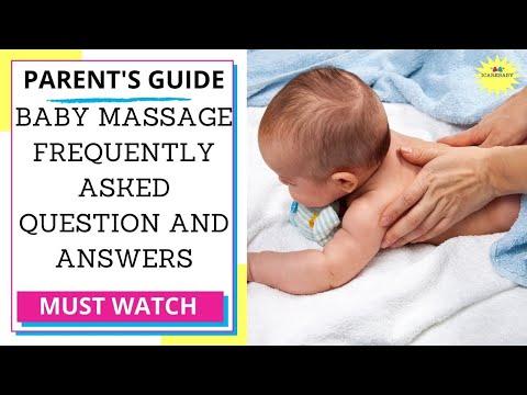 Newborn Baby Massage Q&A