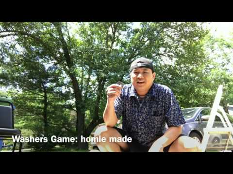 How to make your own washers game