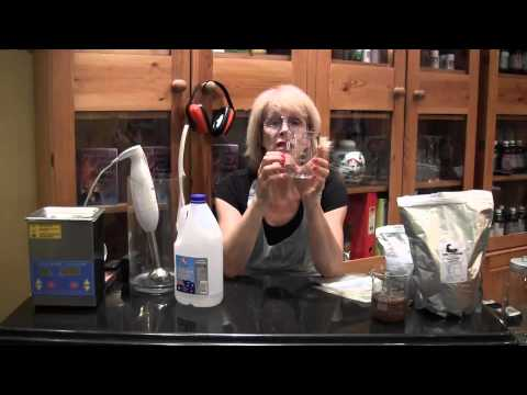 How to make Liposomal Vitamin C with 2 liter ultrasonic machine by Dr  Tracie O'Keefe DCH, BHSc, ND