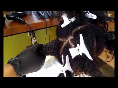 Keratin Treatment on African American hair