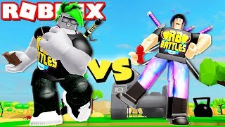 Download BOY vs GIRL Becoming the STRONGEST in Roblox Lifting Simulator! Video