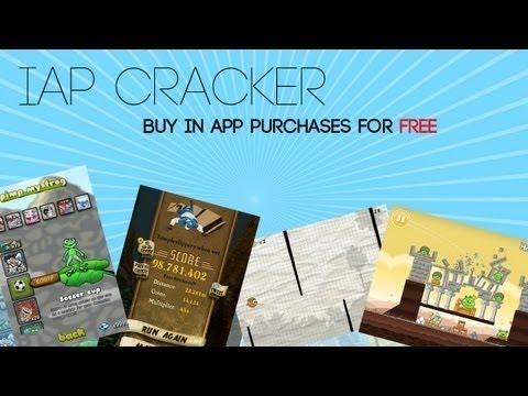 Free In App Purchases IAP IAPCRACKER for jailbroken iOS 6 evasi0n iapfree iap cracker ios6