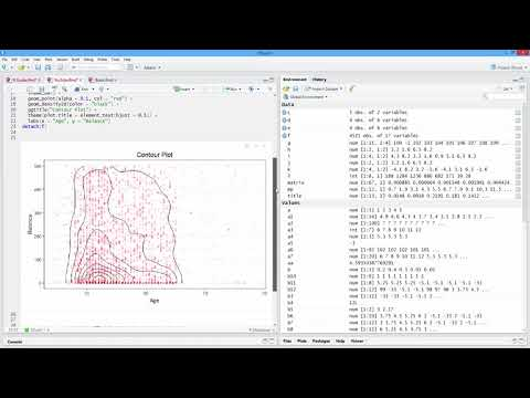 How to Create a Contour Plot in R. [HD]