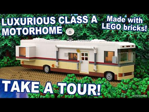 Custom Build - Luxurious Class A Lego Motorhome [CC]