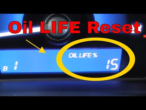 how to reset oil life on honda