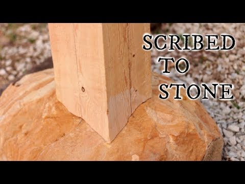 SCRIBING POST TO STONE