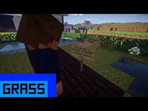 Grass - Minecraft Machinima