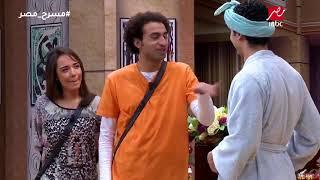 على ربيع ينسي اسمه فى مسرح مصر ورد كوميدي من محمد أنور