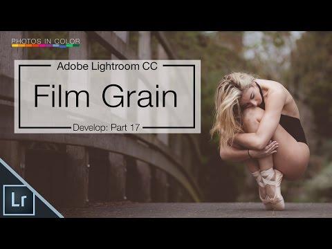 How to add film grain in Lightroom 6 / CC tutorial