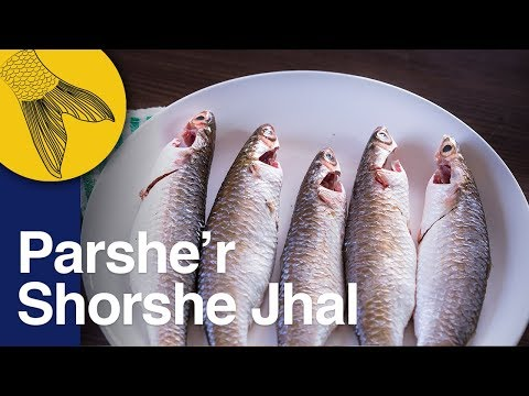 Parshe Macher Jhal Shorshe Recipe Begun Diye   Parshe Macher Jhol   Bengali Parshe Fish Curry Recipe