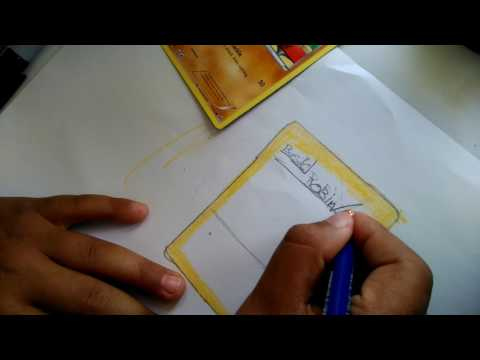 How to make your own pokemon card no printer