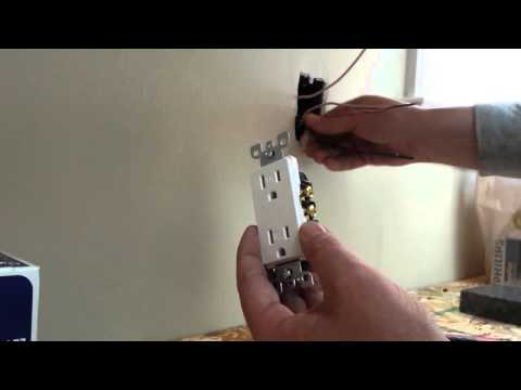 How to Install an Electrical Outlet ( Plug, Duplex Receptacle, Wall Socket)