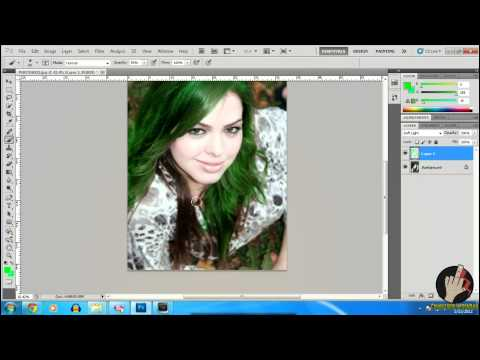 [Info-Facts] How To Change Hair Color 2012 - Photoshop CS5 (Tutorial In Romana)
