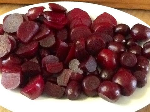 ~Roasting, Trimming and Storing the 2013 Beet Harvest~