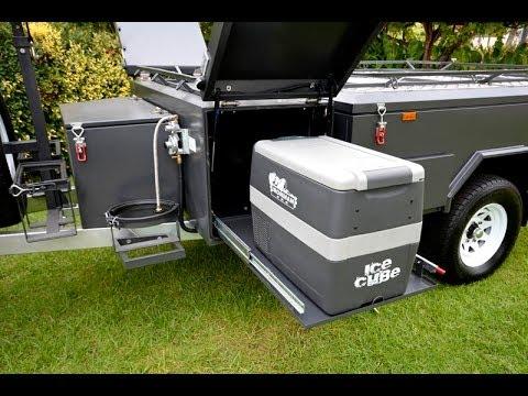 2104 PMX Campers Trail Dueller Off Road Independent Hard floor camper trailer