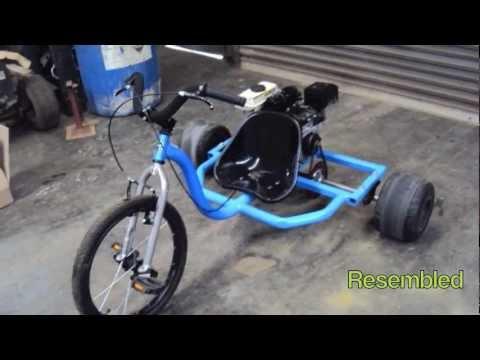Motorised huffy slider